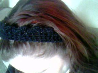 Headband in Glitter Yarn