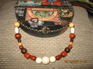 Wooden Bead Handle