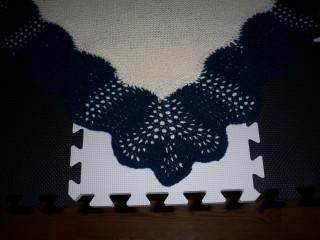 corner of the blanket