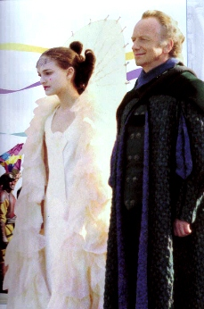 Chancellor Palpatine and Queen Amidala The Phantom Menace