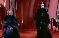 The Phantom Menace- Palpatine and Queen Amidala audience red