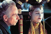 The Phantom Menace Senate Palpatine and Amidala