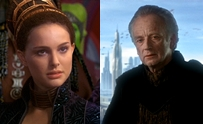 Attack of the Clones Palpatine Padme the idea of losing you is unbearable