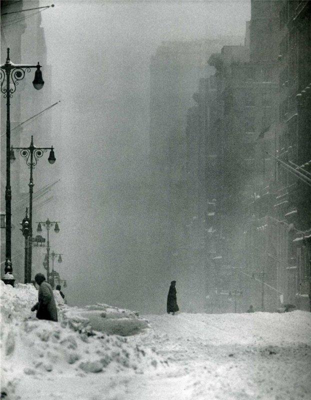 Нью-Йорк в дни Большой Метели 1947 года