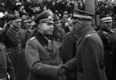 маршал Эдварда Рыдз-Смиглы парад 11 ноября 1938 после Тешина