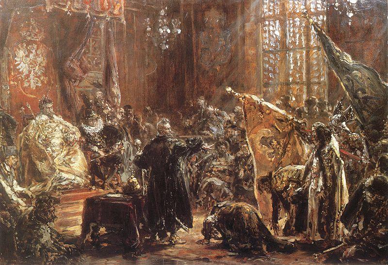 Ян Матейко_1892_Царь Шуйский в Сейме в Варшаве