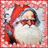 old-fashioned santa