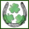 10 - horseshoe shamrocks