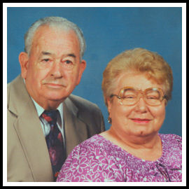 Mom and Dad - church photo