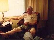 Dad - bday in shorts