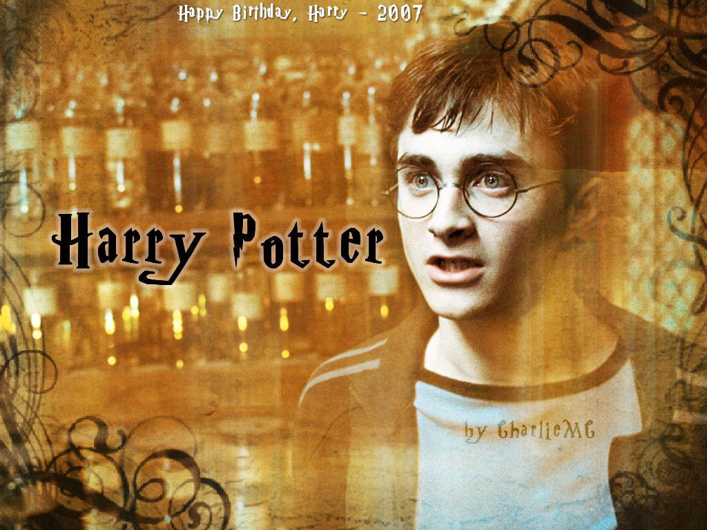 Happy Birthday Harry wallpaper, 2007