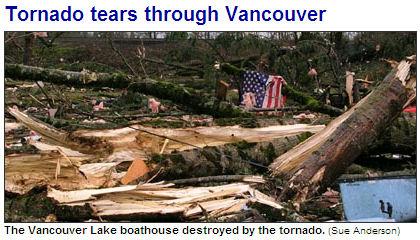 tornado in Vancouver - JAN 10, 2008