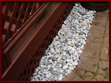 Rocks by deck - 1