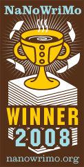 2008 Winner! nanowrimo.org