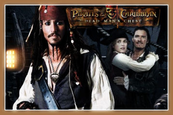 """""""Pirates of the Carribean"""" banner"""