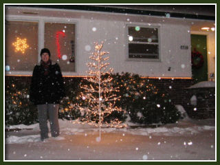 Snow in Portland :: Dec 20, 2008 - front yard (Marilyn)
