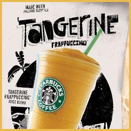 Tangerine Frappuccino