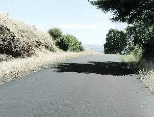 Mosier Twin Tunnels - path