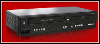 Magnavox DVD Player and 4 Head VCR