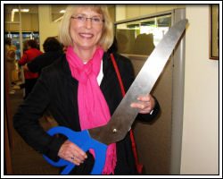 Open House - Peggy not running with scissors
