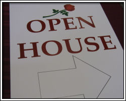 Open House - sign