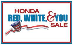 Parker Johnstone's Wilsonville Honda - Red, White & You sale