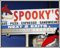 Spooky's Pizza (The Dalles, OR)