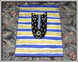 2009 auction - cat art