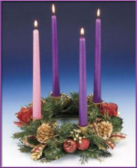 Advent Wreath - Sunday 4
