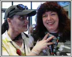 Zombie Jessica with Charlie