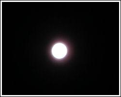 Perseids 2011 - full moon