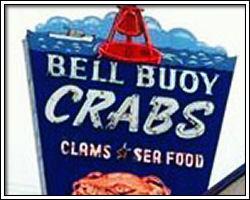 Bell Buoy sign - Seaside, Oregon