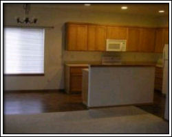 beach house 13 - not our photo - dining area and kitchen seen from living room
