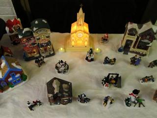 2011 Christmas - Christmas village