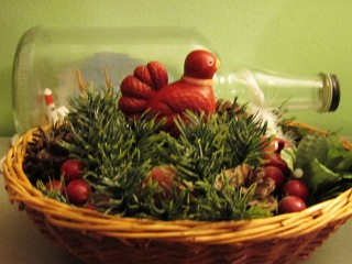 2011 Christmas - Partridge basket