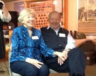Joyce and Gil -- happy couple!