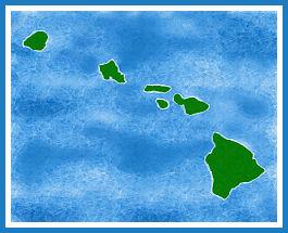 Map of Hawaii by CharlieMC