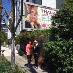 Charlie & Marilyn - billboard