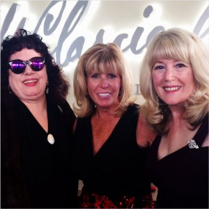 Charlie, Sue B. and Marilyn