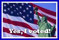 Vote -- Lady Liberty
