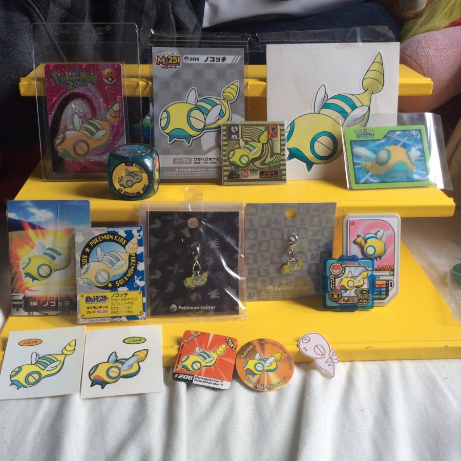 New custom gets + A look at my Dunsparce collection + Some