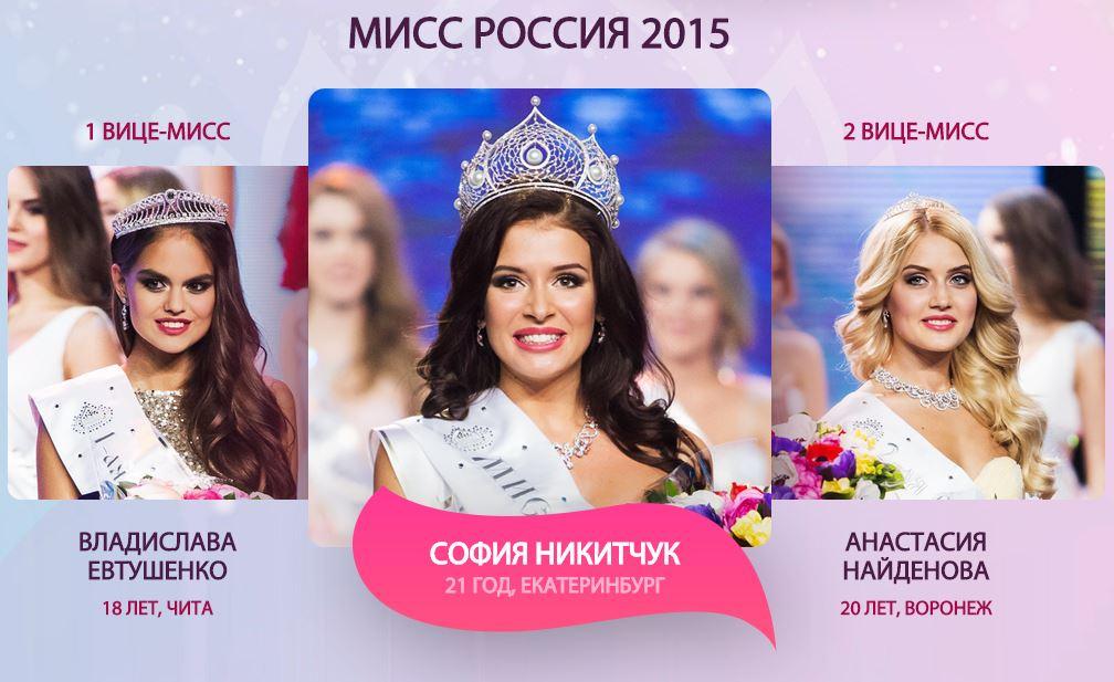 мисс Россия-2015