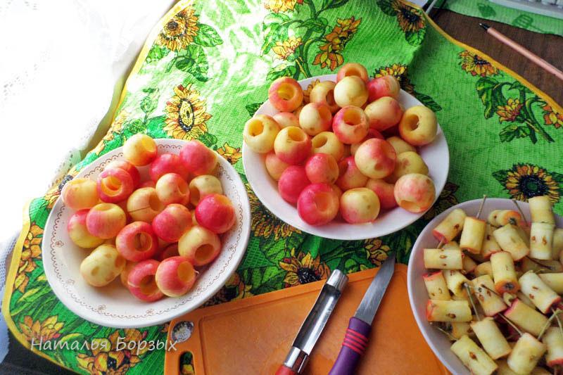 яблочки для варенья