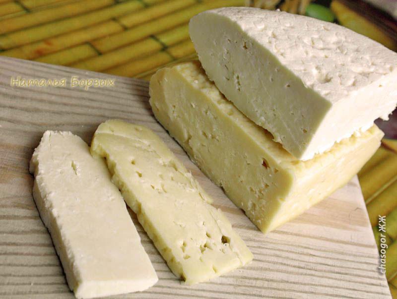 два разных сыра