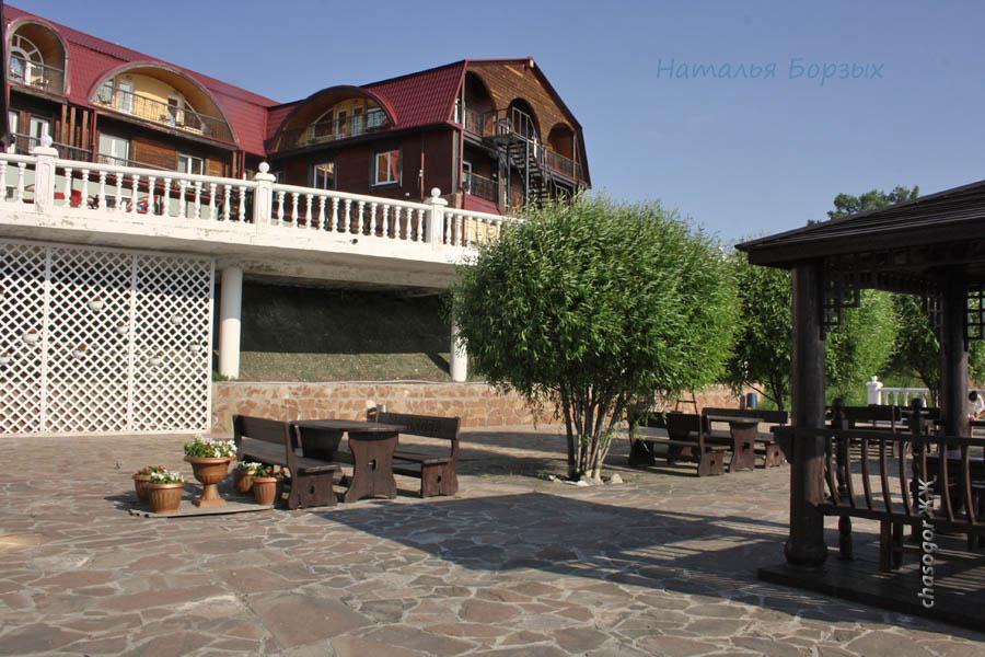 дворик отеля