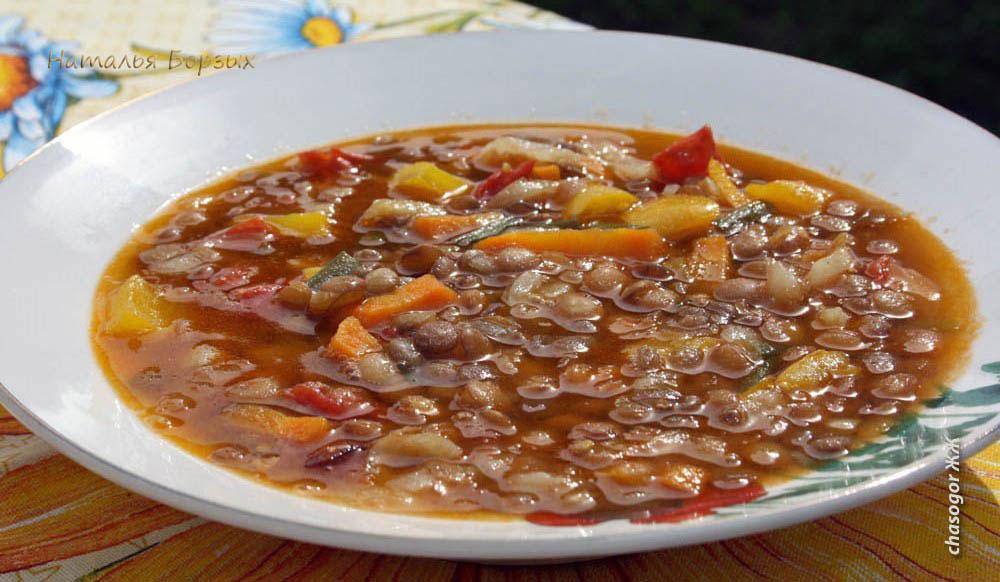 чечевичный суп готов