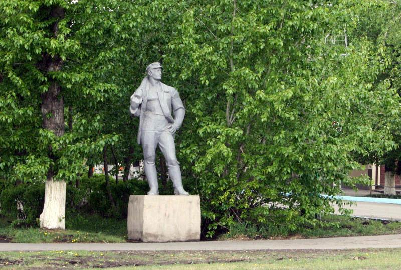 памятник последнему шахтёру