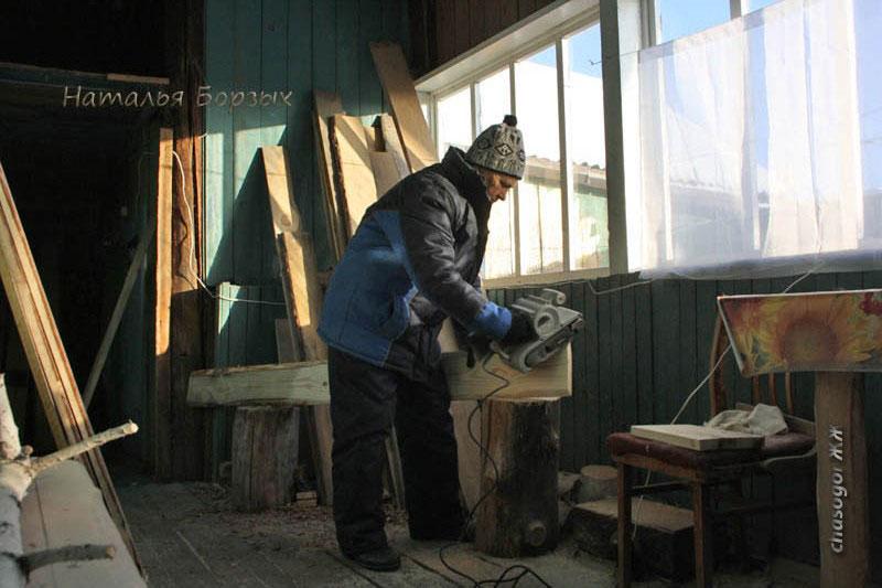 мастерская на веранде
