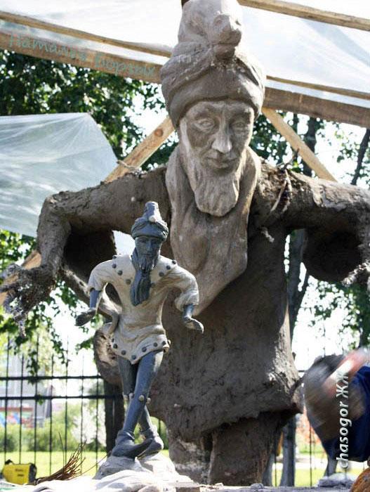 макет и скульптура