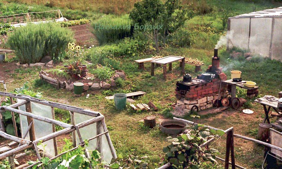кухня полевая, или огородная